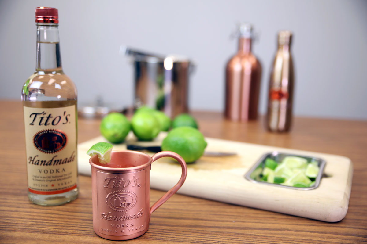 Moscow Mule Mug with Custom Logo